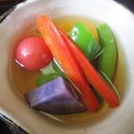 18408799 - 「かけ汁の野菜浸し」アップ