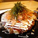お食事処やまき - 料理写真:お好み焼き ミックス四種:780円 (2013/Feb.)
