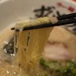 ラー麺 ずんどう屋 - 細麺ですー☆