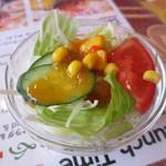 ディップマハル - サラダ