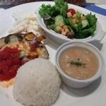 cafe & restaurant ウエストリバー - カジュアルランチプレート