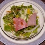 海鮮薬膳中華  トンフォン - サラダ