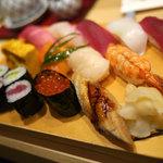 築地寿司岩 - 満腹寿司(2625円)1.5人前