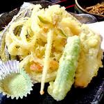 18414292 - 「空海セット」の天ぷら