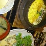 18414891 - 鯛釜飯とチキン南蛮の御膳
