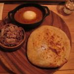 ハティフナット アジアの扉 - たっぷり野菜の親子カレー