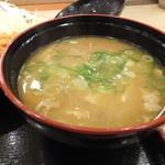 松乃家 - 豚汁