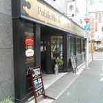 18418912 - 三叉路Y字にあるので店も三角形