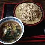 大島うどん - 料理写真:鴨せいろそば