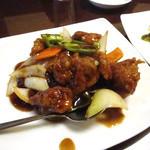 18420522 - 鶏肉の黒酢炒め