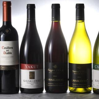 トルコ料理にはトルコワインを♪ ジャパンワインチャレンジ入賞のワインも新入荷!