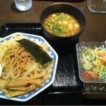 麺屋ゆうき - 2013.4 醤油つけ麺 小盛り