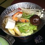 鳥羽グランドホテル - 鍋物 海鮮鍋