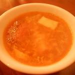モンスーンカフェ - 日替わりスープ