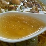 18423586 - スタミナラーメンスープ インザ レンゲ