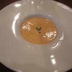 伊酒リア - 本日のスープ:人参のポタージュ(温製)