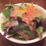 伊酒リア - 野菜のサラダ:船橋産