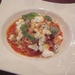 伊酒リア - 本日のパスタより2種チーズのトマトソース タリアテッレ