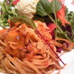サンデーブランチ - ランチセット・サラダと根菜のボロネーゼ¥1100