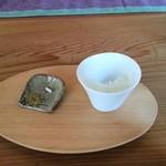 みやもと - テイスティングに 本日のお米とお塩