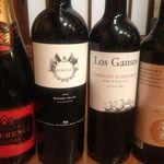 露瑚 - ワインもいろいろございます。