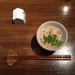アルモニコ - 日替わりプレートの味噌汁