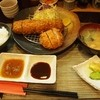 とんかつ 真 - 料理写真:上ヒレかつ定食(大) + 特製えびかつ