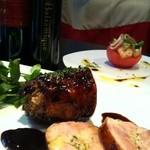 リュード シュリ - 鶏もも肉のガランティーヌ