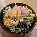 18428135 - 食べ放題のサラダ