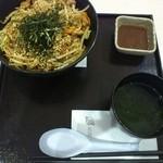 まかない食堂 - 豚カルビ丼650円