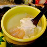 ゆじゅく 金田屋 - 夕食(豆腐入り茶碗蒸し)