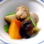 ゆじゅく 金田屋 - 夕食(筑前煮)