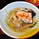 ゆじゅく 金田屋 - 夕食(鶏鍋)