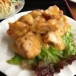 中華料理 金盛園 - 鳥からマヨ