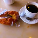 パレー - コーヒーパンセット(ぶどうパン)