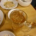 四季ボウ坊 - ジャスミン茶がジョッキで飲み放題状態でした。