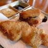 海の薫 - 料理写真:<海の薫>ほたてアスパラ、なす肉詰め