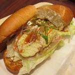 ドトールコーヒーショップ - ミラノサンドC・チキンと生ハムのアボカドソース~ゆず胡椒風味~ 390円