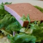 シェ・トト - 1)ハムのサラダ