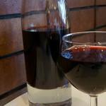 シェ・トト - 7)ハウスワインをカラフェで