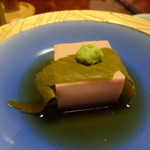 郷味 洲さき - 桜餅の豆腐