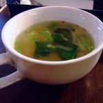 ジャムカフェ - ごはんメニューのセットのスープ