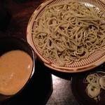 18437368 - 【冷たい蕎麦】くるみ汁(2013.4.17)
