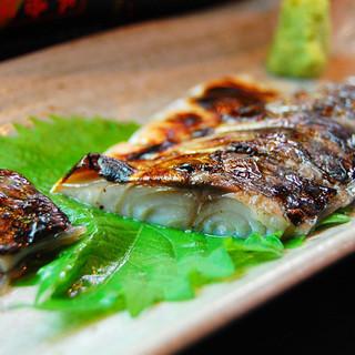 炭火で差が出る食材は、魚!