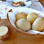 レストラン 樹葉亭 - パン & バター(2013年4月)