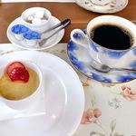 レストラン 樹葉亭 - プチデザート & コーヒー(2013年4月)