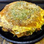 七福 - 豚玉モダン焼き