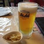 18443985 - ビールとザーサイ
