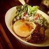 ランモック カフェ ロフトン ウェアハウス - 料理写真:自家製グレービーソースのロコモコ!ランモックの定番丼です!