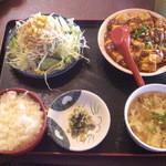 18444690 - マーボー豆腐定食